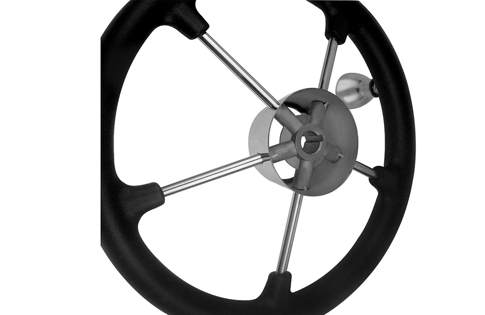Black Foam Steering Wheel