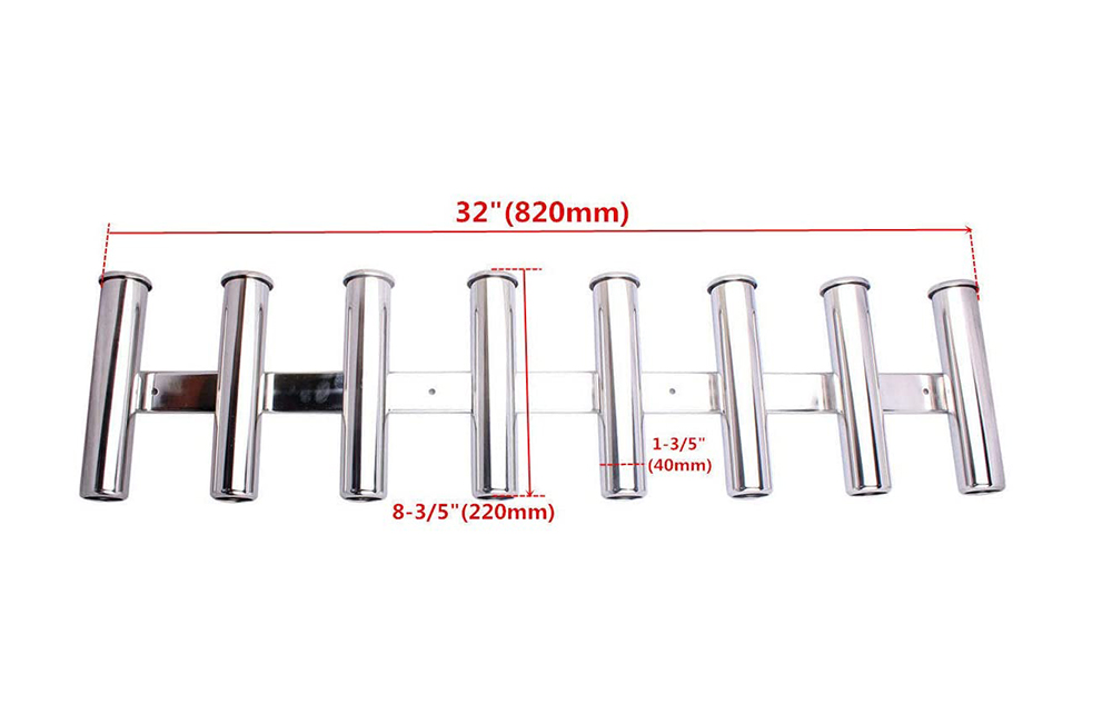 8 Tube Rod Holder